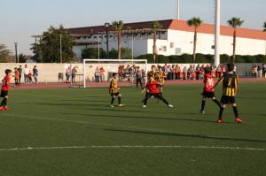 Torneo de fútbol 7 alevín en Cartaya.
