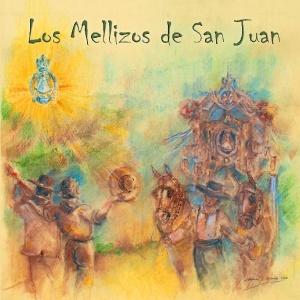 151213 Pintura de portada del disco de Los Mellizos de San Juan