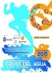 CARTEL CROSS DEL AGUA 2015