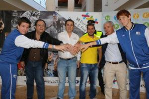 Convenio Huelva 2016 con el CD Huelva Baloncesto.