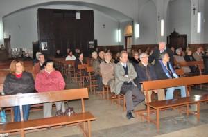 Misa de difuntos del Recreativo de Huelva.