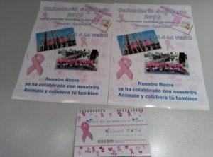 Calendarios solidarios de la Asociación de Cáncer de Mama 'Santa Águeda'.