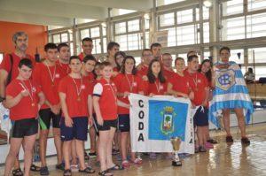 CODA, equipo subcampeón paralímpico andaluz.