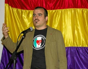 Dani Hernando, candidato UP-IU Huelva