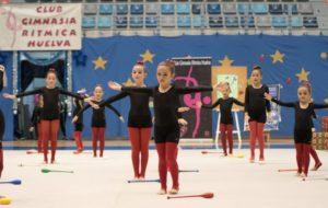 Gala de Navidad del Club Gimnasia Rítmica Huelva.