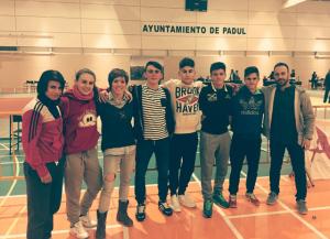 Equipo junior del Judo Huelva TSV.