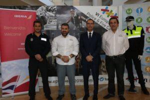 Convenio entre Iberia y el Comité de los VI Juegos Europeos de Policías y Bomberos.