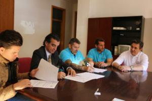 Convenio entre Huelva 2016 y CIPA.