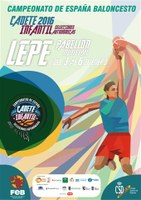 Campeonato España infantil y cadete de baloncesto masculino en Lepe.
