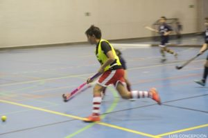 Torneo de hockey sala en Ayamonte.