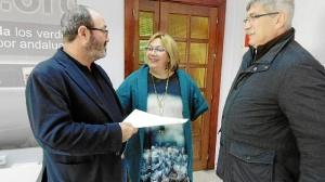 Pedro Jimenez, Monica Rossi y Juan Manuel Arazola