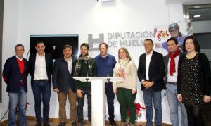 Presentación de la etapa de la Vuelta Ciclista a Andalucía en Almonaster la Real.