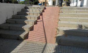 Rampa Plaza de la Misericordia.