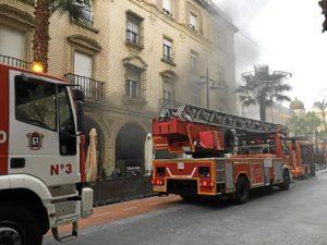 foto incendio plaza las monjas