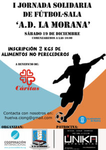 Jornada solidaria deportiva en La Morana.