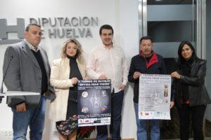 Presentación del torneo de baloncesto junior en Mazagón.