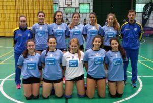 Selección onubense juvenil de voleibol femenino.