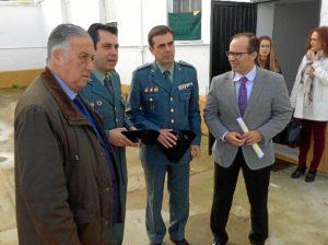 20160120 Visita obras PROFEA cuartel Hinojos
