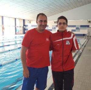 David Sánchez, nadador del CODA.