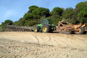Acopio arena playa Nuevo Portil (2)