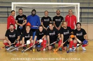 Equipo de hockey sala de Ayamonte.