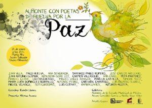 Cartel Almonte con Poetas por la Paz