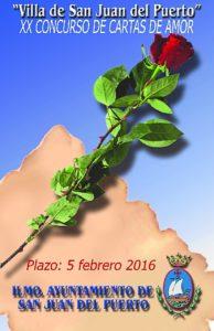 Cartel XX Concurso de Cartas de Amor