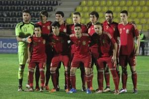 Selección Española sub 19.