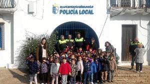 policia local almonte con escolares 5109
