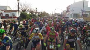 Salida del BTT Maratón de Almonte.