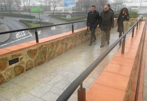 20160210 Cortegana obras PROFEA acceso pasarela 2