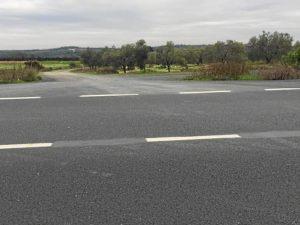 Accesos carretera 4