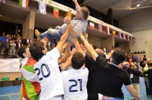 CD Sordos Huelva, campeón de Europa de fútbol sala.