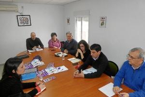 Encuentro Isabel Franco (Podemos) y CCOO