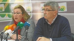 Monica Rossi y Juan Manuel Arazola