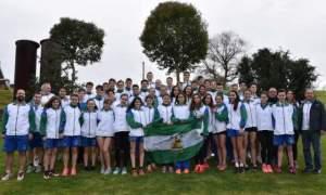 Selección Andaluza infantil junior de natación.