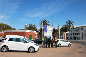 Vehiculos electricos Puerto Huelva1