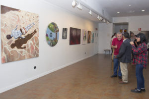 exposicion obras participantes 2015 en La Palma