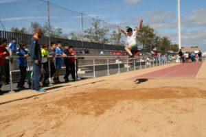 Olimpiadas escolares en Cartaya.
