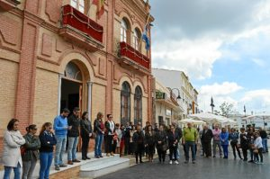 Minuto de silencio en San Juan del Puerto.