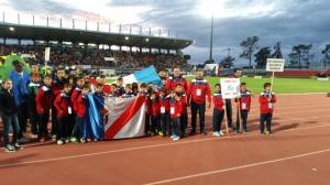 Equipos almonteños en el Mundialito.