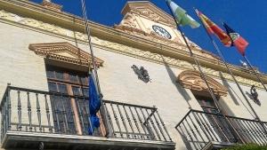 Bandera arriada UE Ayamonte