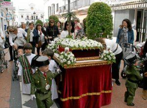 Borriquita infantil Cartaya (1)