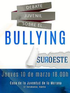 Cartel Charla bullying