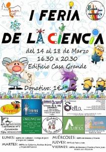 Cartel I Feria de las Ciencias