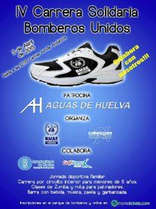 Cartel IV Carrera solidaria BUSF