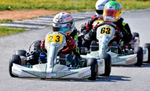 Campeonato de Andalucía de karting.