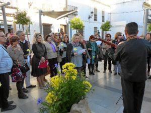 Homenaje a Zenobia en Moguer (2)