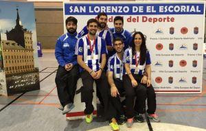 Jugadores del Recreativo IES La Orden en Madrid.