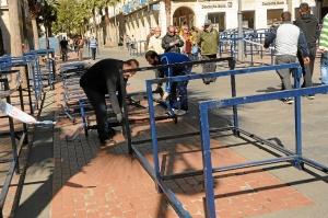 Montaje palcos Semana Santa Huelva (2)